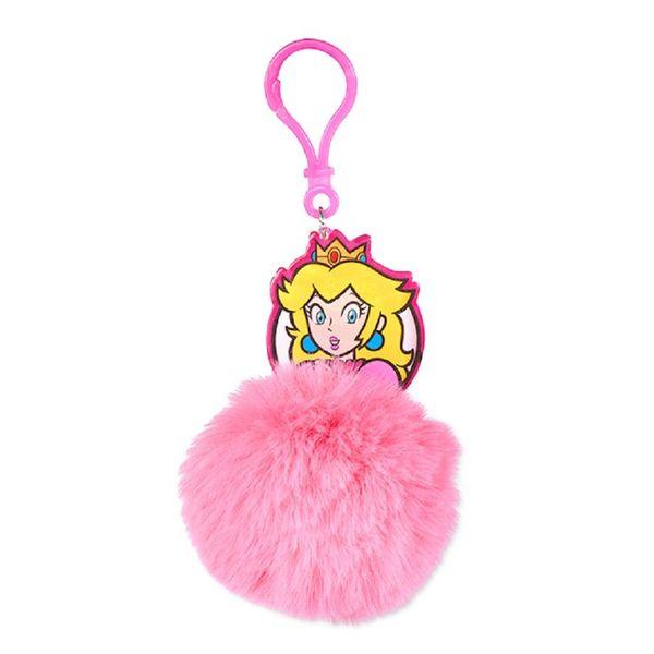 Llavero Princesa Peach Pom Pom Super Mario