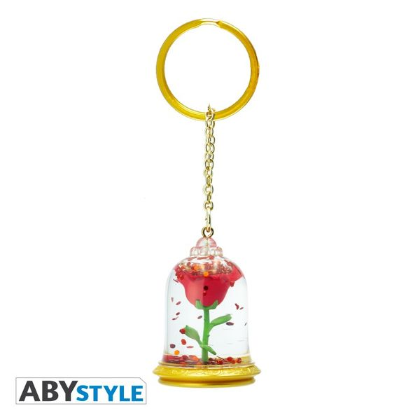 Rose Keychain Beauty and the Beast ABYstyle
