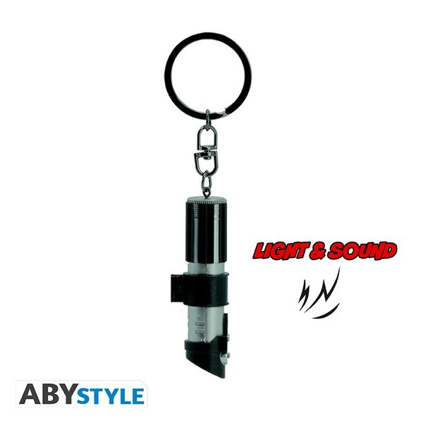 Darth Vader Star Wars key ring with light and sound