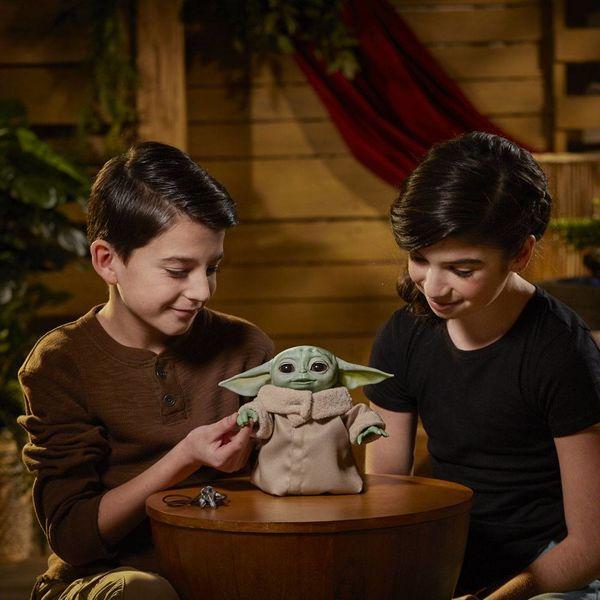 The Child Grogu Plush Doll Star Wars The Mandalorian Animatronic
