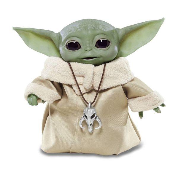 Baby Yoda The Child Plush Doll Star Wars The Mandalorian Animatronic