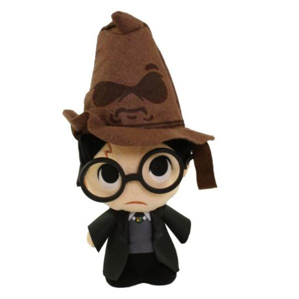 Peluche Harry Potter con Sombrero Seleccionador Harry Potter