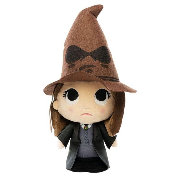 Peluche Hermione Granger con Sombrero Seleccionador Harry Potter
