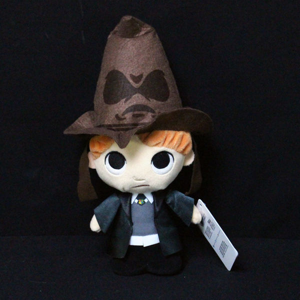 Ron Weasley with Sorting Hat Plush Harry Potter