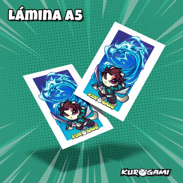 Lamina A5 Kuroneko cazador de demonios Kurogami
