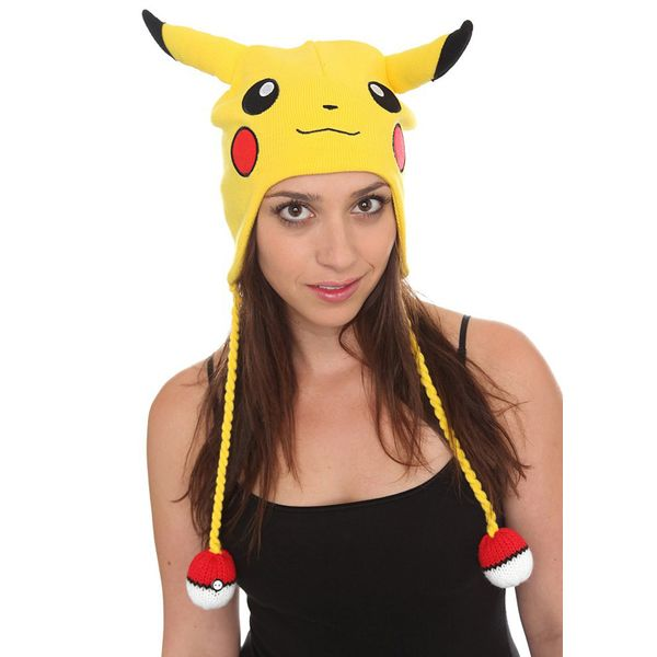 Beanie Pikachu Pokeballs Pokemon