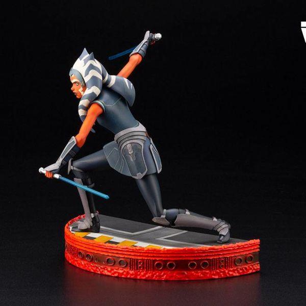 Figura Ahsoka Tano Star Wars The Clone Wars ARTFX