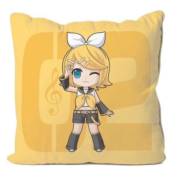 Kagamine Vocaloid Rin Cushion Cover