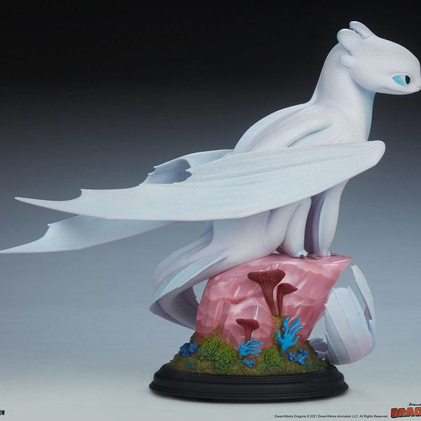 Estatua Furia Luminosa Cómo Entrenar A Tu Dragon