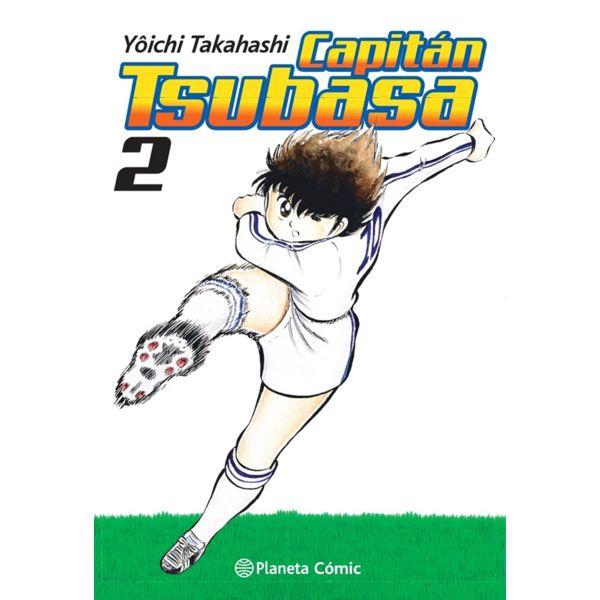 Capitán Tsubasa #02 Manga Oficial Planeta Comic