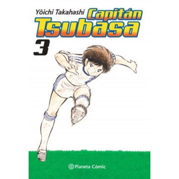Capitán Tsubasa #03 Manga Oficial Planeta Comic