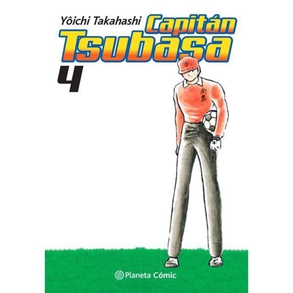 Capitan Tsubasa #04 Manga Oficial Planeta Comic