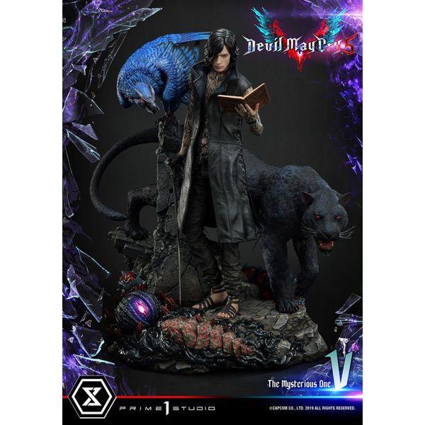 Estatua V Devil May Cry 5
