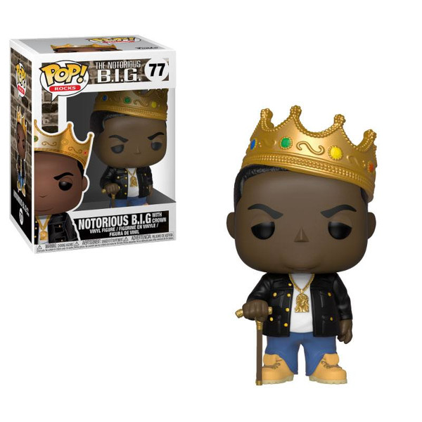 Funko Notorious B.I.G. with Crown POP!
