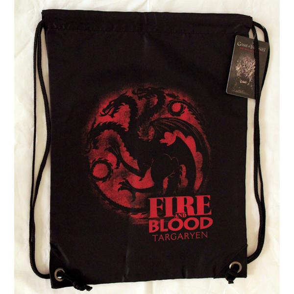 Bolso GYM Juego de Tronos Blood and Fire