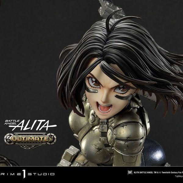 Estatua Gally Alita Angel de Combate Ultimate Version