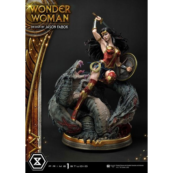 Estatua Wonder Woman VS Hydra Wonder Woman DC Comics
