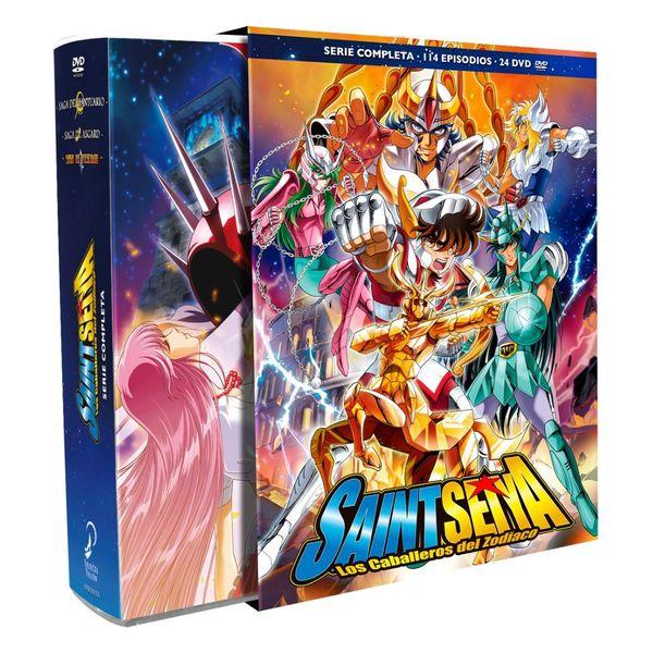 Saint Seiya Los Caballeros Del Zodiaco Serie Completa Episodios 1-114 DVD