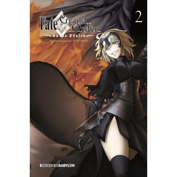 Fate/Grand Order: Turas Realta #02 Manga Oficial Ediciones Babylon