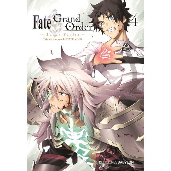 Fate/Grand Order: Turas Realta #04 Manga Oficial Ediciones Babylon (spanish)