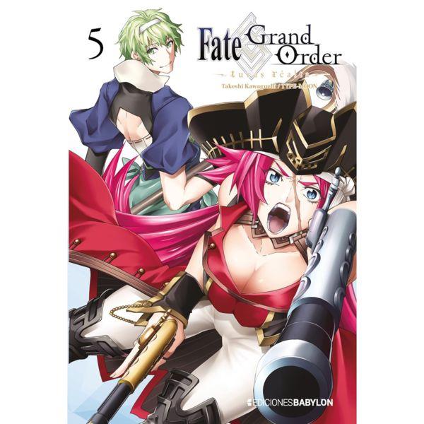 Fate Grand Order Turas Realta #05 Manga Oficial Ediciones Babylon