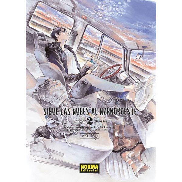 Sigue Las Nubes Al Nornoeste #02 Manga Oficial Norma Editorial (spanish)