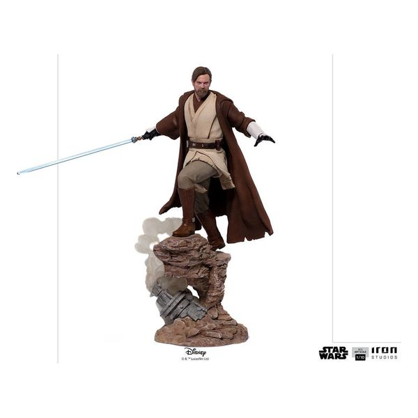 Estatua Obi Wan Kenobi Star Wars Deluxe BDS Art Scale