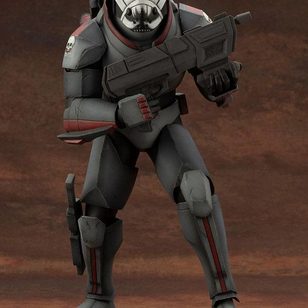 Figura Wrecker Star Wars La Remesa Mala ARTFX