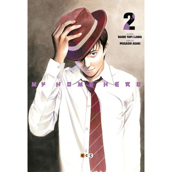 My Home Hero #02 Manga Oficial ECC Ediciones (spanish)