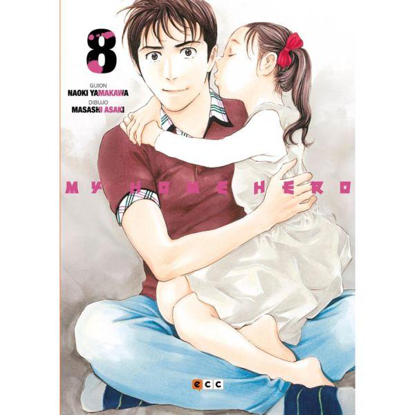 My Home Hero #08 Manga Oficial ECC Ediciones (Spanish)