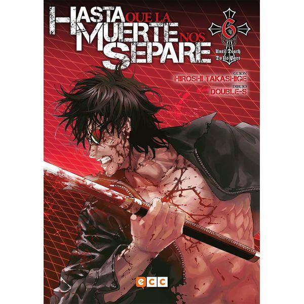 Hasta que la Muerte nos separe #06 Manga Oficial ECC Ediciones