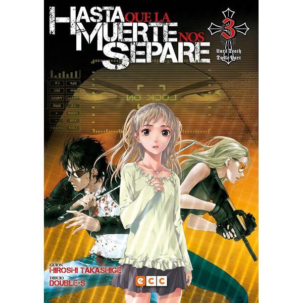 Hasta que la Muerte nos separe #03 Manga Oficial ECC Ediciones