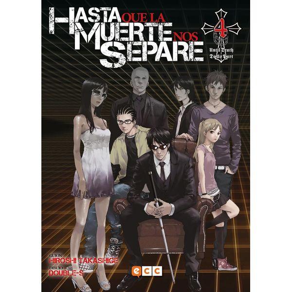 Hasta que la Muerte nos separe #04 Manga Oficial ECC Ediciones