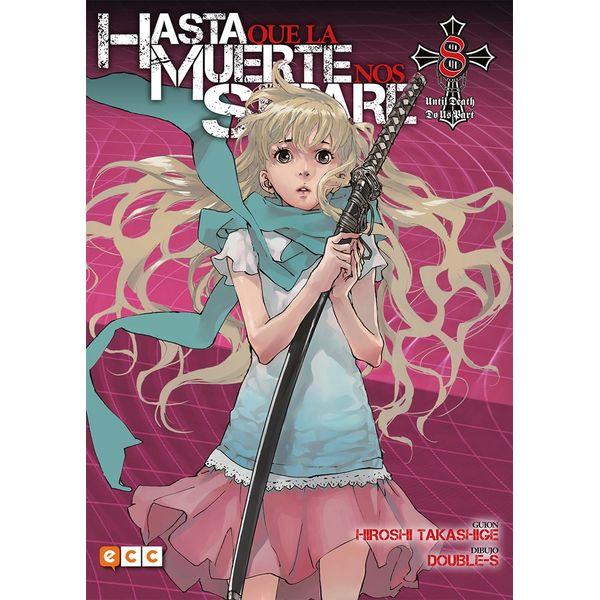 Hasta que la Muerte nos separe #08 (spanish) Manga Oficial ECC Ediciones