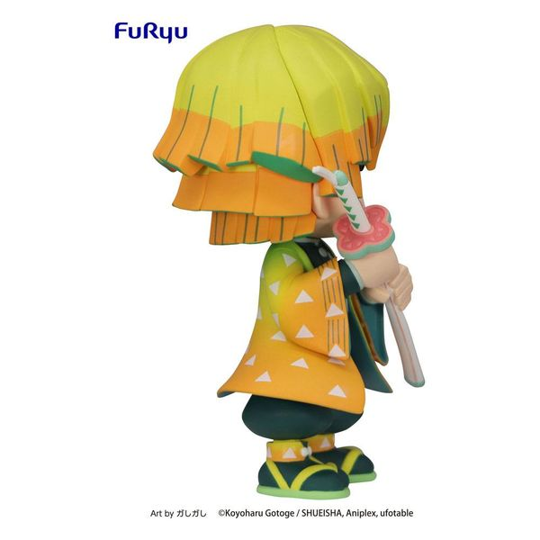 Figura Zenitsu Agatsuma Kimetsu no Yaiba Toonize