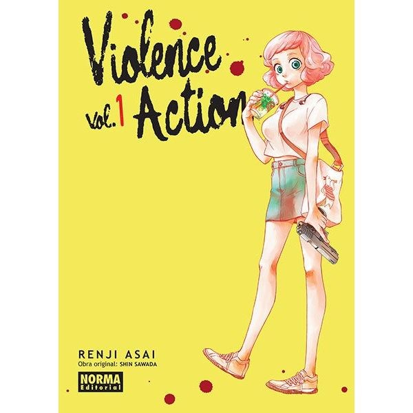 Violence Action #01 Manga Oficial Norma Editorial