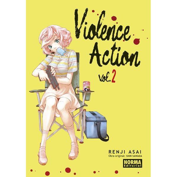 Violence Action #02 Manga Oficial Norma Editorial