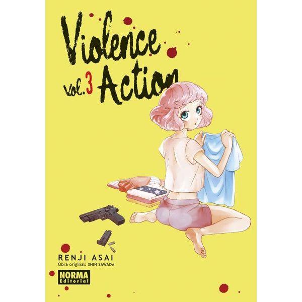 Violence Action #03 Manga Oficial Norma Editorial (spanish)