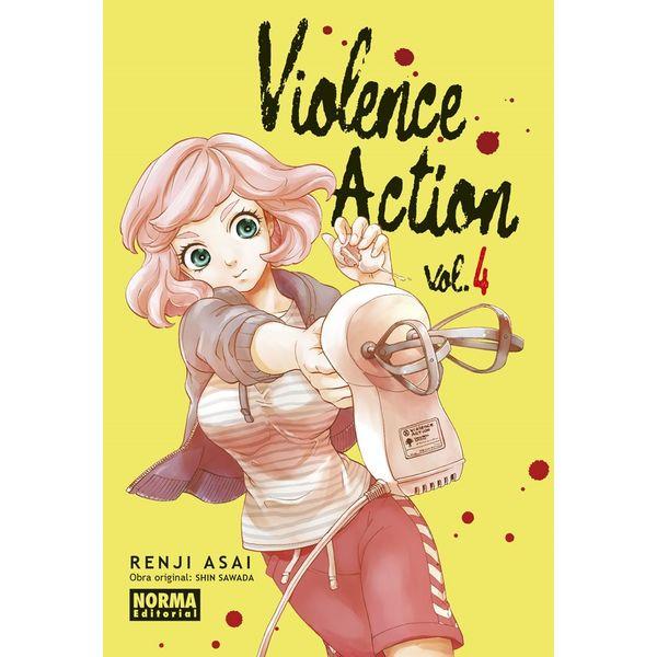 Violence Action #04 Manga Oficial Norma Editorial