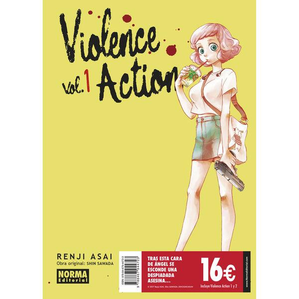 Violence Action Pack Iniciacion Manga Oficial Norma Editorial