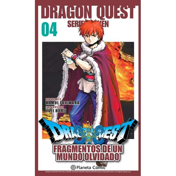 Dragon Quest VII: Fragmentos De Un Mundo Olvidado #04 Manga Oficial Planeta Comic (spanish)