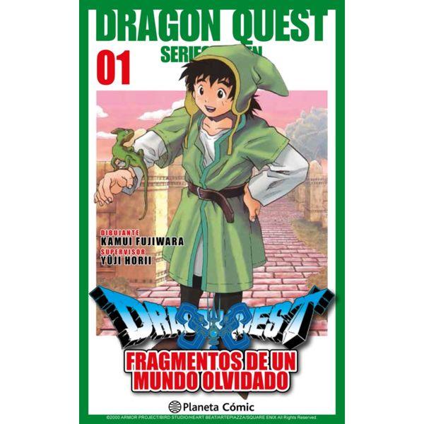 Dragon Quest VII: Fragmentos De Un Mundo Olvidado #01 Manga Oficial Planeta Comic
