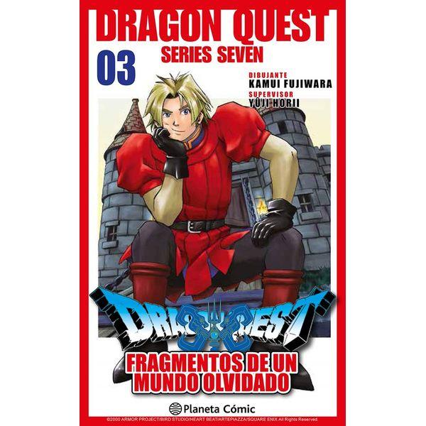 Dragon Quest VII: Fragmentos De Un Mundo Olvidado #03 Manga Oficial Planeta Comic (spanish)