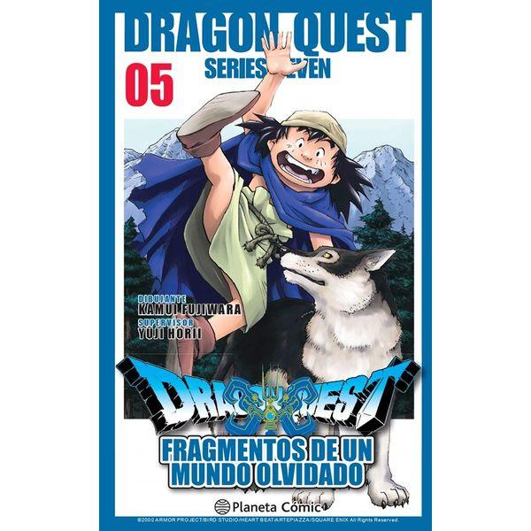 Dragon Quest VII: Fragmentos De Un Mundo Olvidado #05 Manga Oficial Planeta Comic