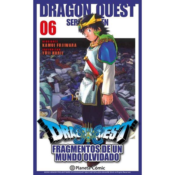 Dragon Quest VII: Fragmentos De Un Mundo Olvidado #06 Manga Oficial Planeta Comic