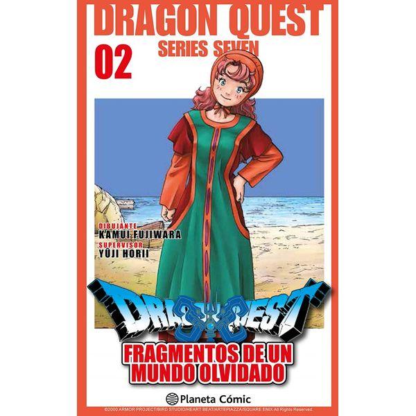 Dragon Quest VII: Fragmentos De Un Mundo Olvidado #02 Manga Oficial Planeta Comic