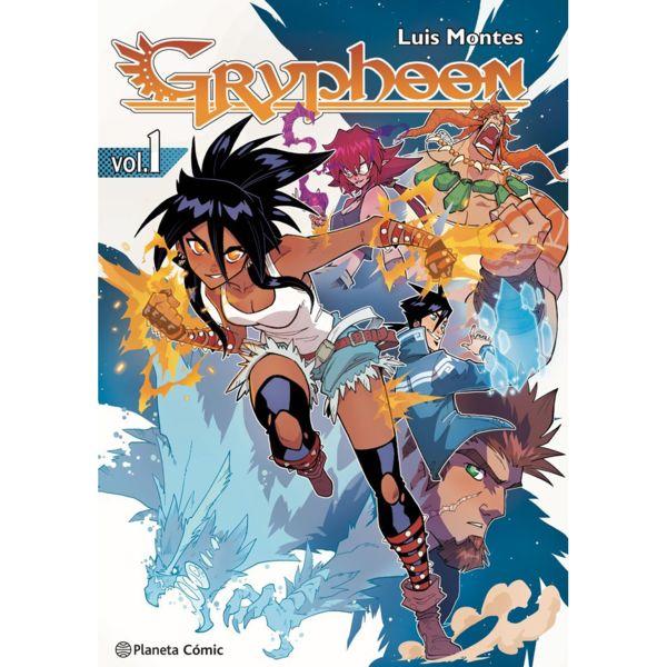 Gryphoon #01 Manga Oficial Planeta Comic