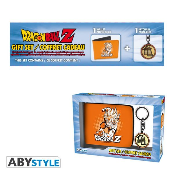 Pack Cartera y Llavero Kanji Dragon Ball Z