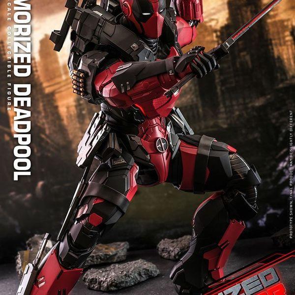 Figura Deadpool Armorized Masterpiece Marvel Comics Hot Toys