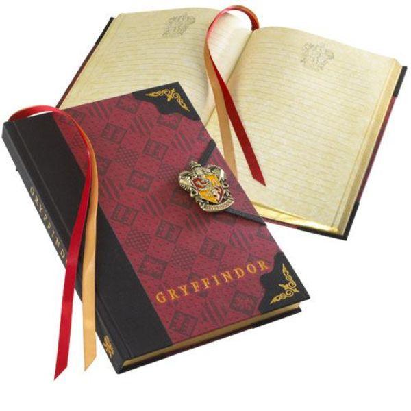 Libreta Diario Gryffindor Harry Potter